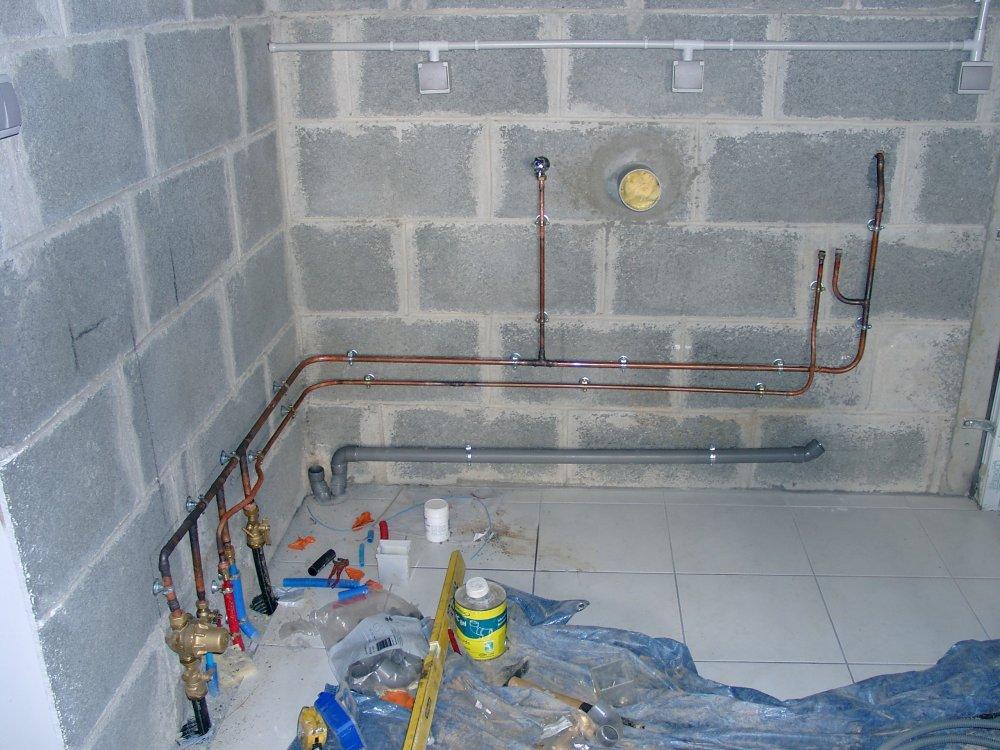 Lesportes lesfen tresetlecr pis5 laconstructiondenotremaison - Evacuation robinet exterieur ...